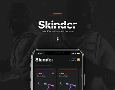 Skinder - csgo case simulator