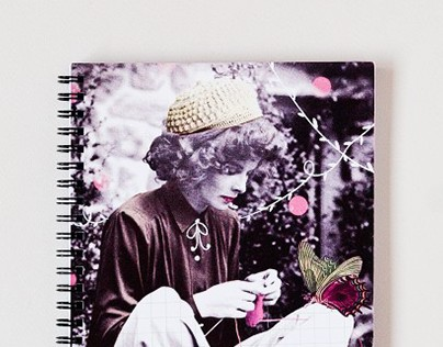 Collage Notebooks