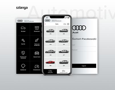 Audi Car Dealer - App for clients.