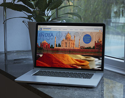 Propuesta web agencia de viajes Dynamic Tours
