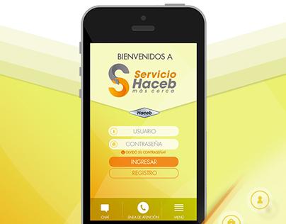 App Servicios Haceb