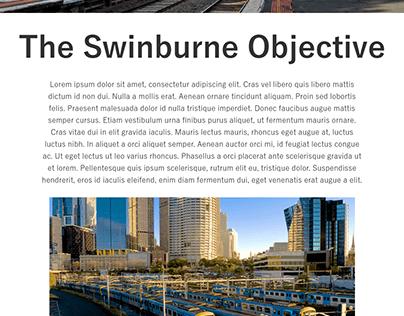 Swinburne Sustainable Transport Website Concept