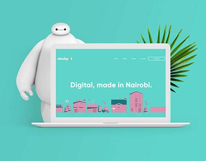 Stockpot Digital Studio - Web Redesign