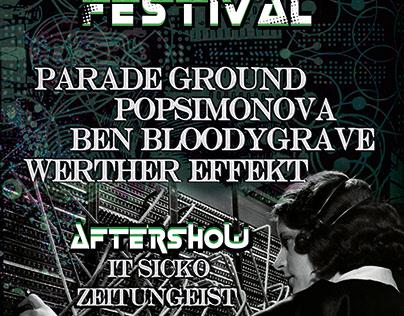 Weird Science Festival poster - 2018