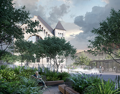 Competition 3rd award - Imperial Castle in Poznan