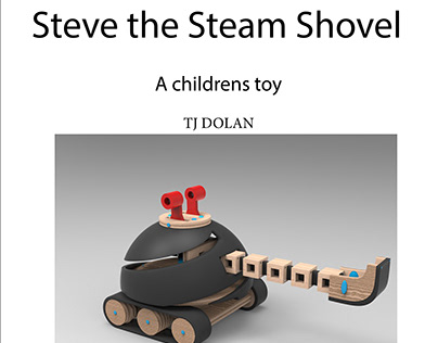 Steve the Steam Shovel: sophomore year toy project