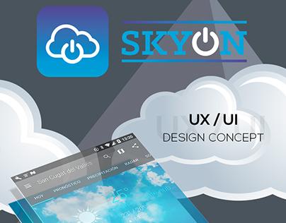SKYON - UX / UI CONCEPT DESIGN