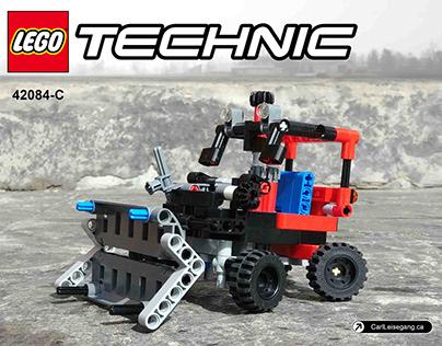 Lego 42084-C: Bulldozer