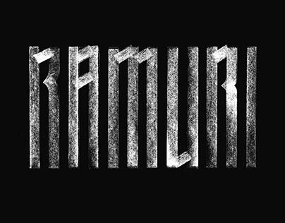 RAMURI Typeface