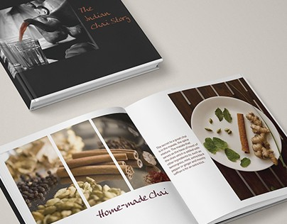 Coffee table Book- The Indian Chai Story