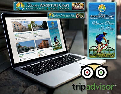 County Tourism Digital Ad Designs