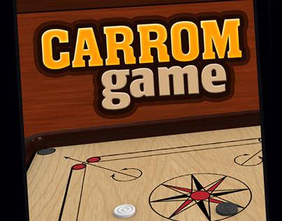 Carrom Game App UI