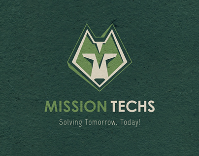 Mission Techs, USA. Logotype Design
