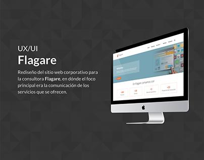 Rediseño sitio web Flagare