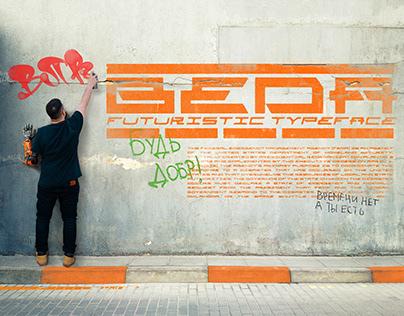 BEDA typeface