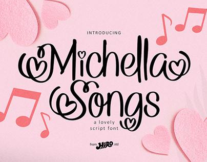 Michella Songs (Lovely Script Font)