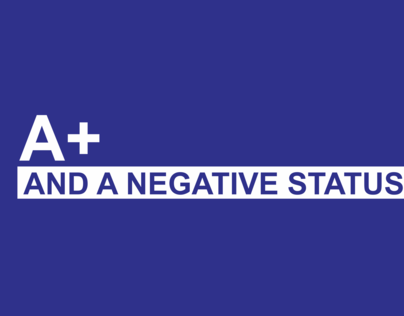 HIV-Awareness Campaign: A+ and a NEGATIVE Status