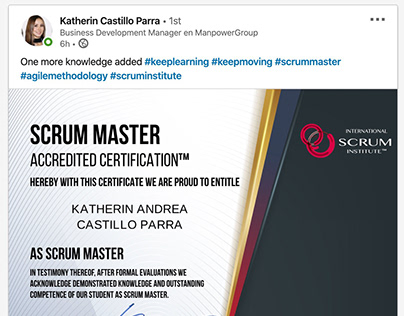 Scrum Institute Success!