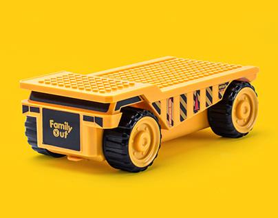 Fatwheels Truck Pencil Case
