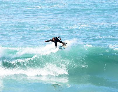 Bidart - A surf session