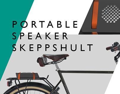 portable speaker concept