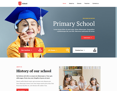 Educational website. For School, College, Coaching