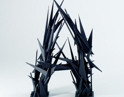 Splinter: 3D Typeface