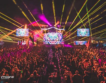 Imagine Music Festival 2017 - Oceania Stage LED
