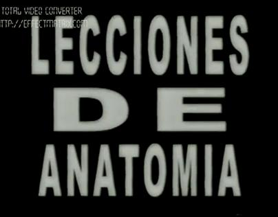 Lecciones de anatomía. 2002