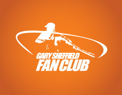 Gary Sheffield Fan Club Brand Identity