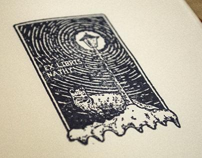 Narnia Lamppost Ex Libris