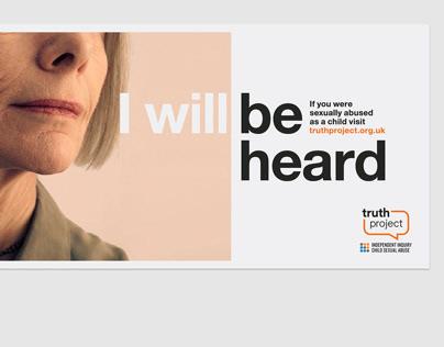 Truth Project—Identity & Campaign Design