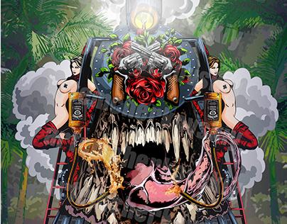 Design A Commemorative Poster For Guns N' Roses