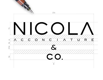 Nicola & CO. - Hair Salon / Logo Design and Branding