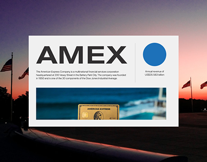 American Express Company website redesign