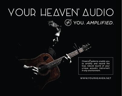 Your Heaven Audio  Trade Show Materials