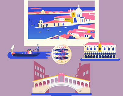 :::Famous destinations - travel posters:::