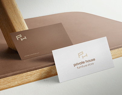 private house logo - furniture store