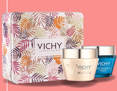 Gift Box Packaging Design - Vichy Mother's Day 2018