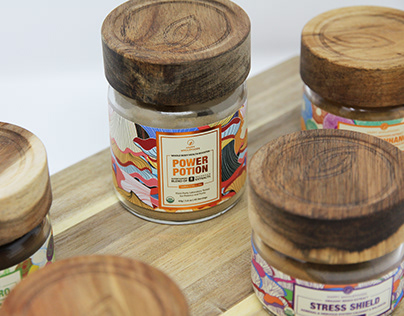 Happy Wholefoods: A Family Of Pop Food Supplements