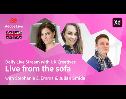 Adobe Live from the sofa UK with Julian Smida