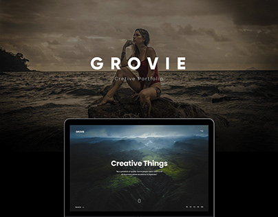 Grovie - Creative Portfolio Ajax Template