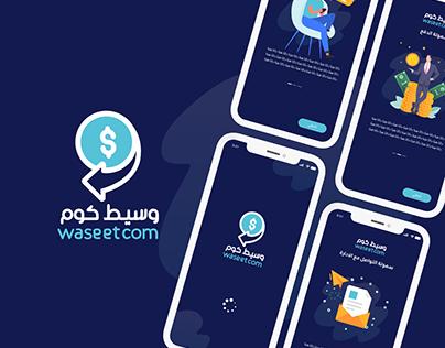 WaseetCom App