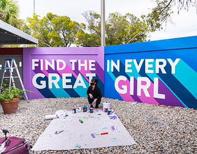 Find the Great in Every Girl Mural