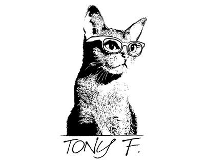 Tony F - Brand identity