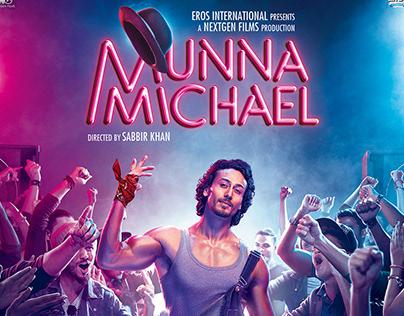 Munna Michael 2nd Poster (2017)