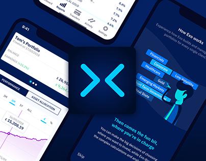 Exo Investing · Fintech app