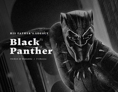 Black Panther Concept Ui Design