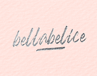 Bellabelice Logo for Cosmetics Online Store