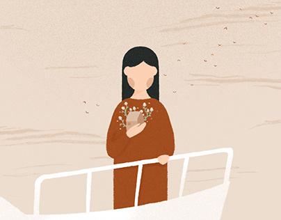 Illustration about separation